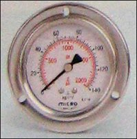 63mm Panel Mounting Micro Glycerin Filled Pressure Gauges