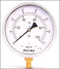 100mm Panel Mounting Micro Glycerin Filled Pressure Gauges