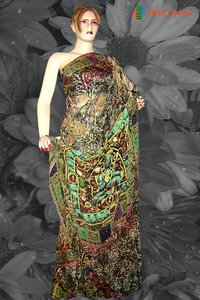 Fashion Digital Printed Sarees
