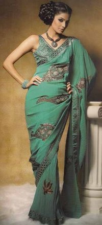 Beautiful Crush Georgette Saree