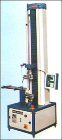 Tensile Tester With Cof Attachment