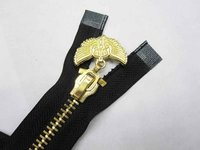 Brass Polishing Metal Zipper