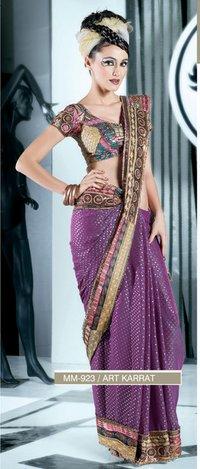 Designer Lehanga Type Sarees