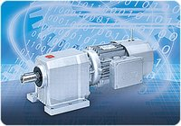 C Series In-line Helical Gearmotors