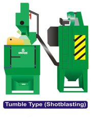 Semi Auto Tumble Type Shot Blasting Machine