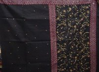Embroidered Black Sarees