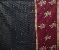 Black Embroidered Sarees