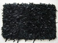 Black Shaggy Rugs