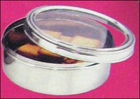 Stainless Steel Biscuits Dabba