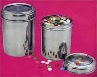 Stainless Steel Translucent Containers