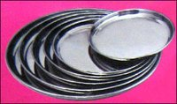 Stainless Steel Serving Plates