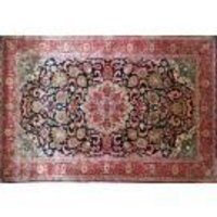 Designer Kashmir Silk Carpet