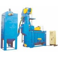 Swing Table Type Airless Shot Blasting Machine