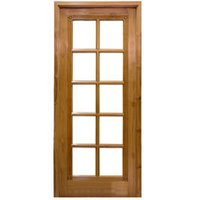 Glass & Wood Panel Doors