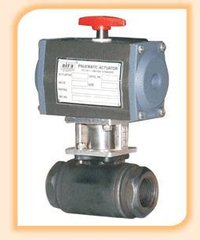 Pneumatic Actuator Operated High Pressure Ball Valve