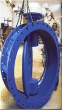 Off Center Disc Design Butterfly Valves