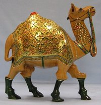 Gold Painted Camel