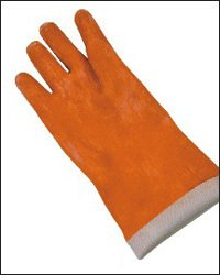 Natural Rubber Fabricline Gloves