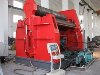 Hydraulic Four Roller ARC Down Plate Machine