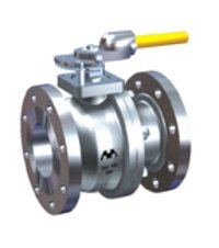 Cast Two Piece Flanged End Ball Valves