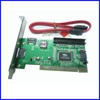 PCI To 3 SATA And IDE Card