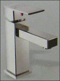 Single Lever Basin Mixer Without Pop Waste System