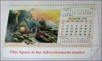 Printed Medium Size Desk Calendar