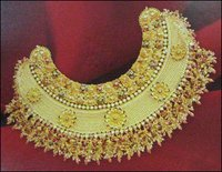 Gold Bengal Antique Necklace