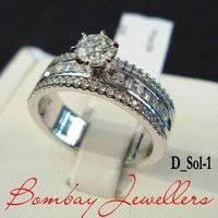 Ladies Solitaire Diamond Rings