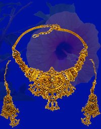 Pure Gold Necklace Set
