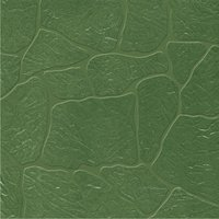 Vitrified Green Wavy Parking Tiles