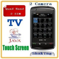 Quad Band Touch Screen Mobile Phone