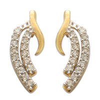 Ladies Diamond Studded Earrings
