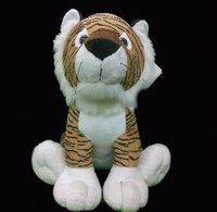 Stuffed Tiger Shape Toy