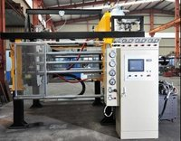 EPS Vertical Shape Moulding Machine With Vacuum