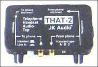 Telephone Handset Audio Tap