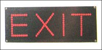Led Exist Sign Board