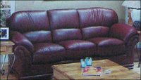 Elegant Leather Sofa