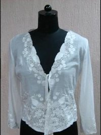 White Color Womens Tops