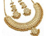 Fancy Gold Necklace Set