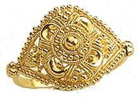 Ethnic Ladies Gold Rings