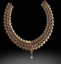 Womens Charming Gold Necklace