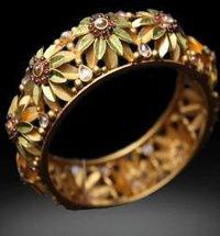 Charming Gold Bangles