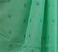 Green Color Cotton Sarees