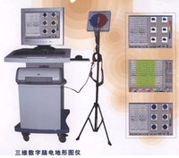 Color 3-D Digital Electroencephalograph Machine