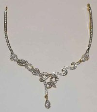 Ladies Silver Necklace