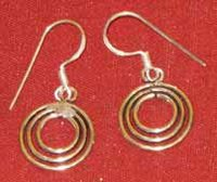 Fancy Silver Earrings