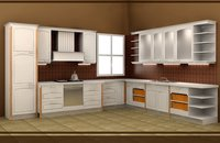 PVC/timber Kitchen Cabinet