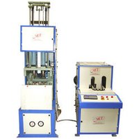Semi Automatic Pet Blow Molding Machines With Auto Dropping Systems