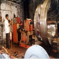 Repair Of Hydel Turbine